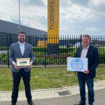 IKT feliciteert Hamers Leidingtechniek B.V. met 10-jarig jubileum en negende kwaliteitszegel